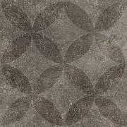Solostone Decore Hormigon 70x70x3.2 cm Floret Antra