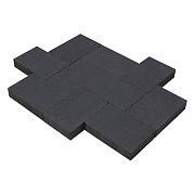 Aanbieding Straksteen 20x30x6 cm Carbon