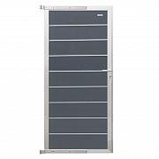 Composiet Modular Systeem Deur Rock Grey-Aluminium 90x200 cm