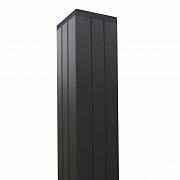 Composiet Modular Systeem Paal Antra Aluminium 68x68x2700 mm voor 180 cm scherm