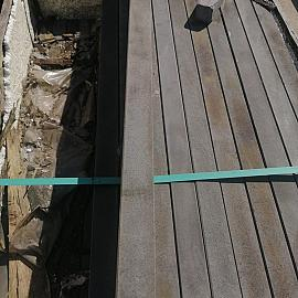 Restpartij Basalt Opsluitband 5x15x100 cm (Verkleurd) OW2019