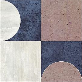 Design Naturals 60x60x3 cm Mosaic Retro