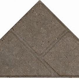 Bisschopsmuts BSS 8cm FA grijs met deklaag (28 st-m2)