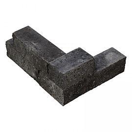 Klippa blok 30x10x10 cm Negro