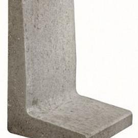L-element 60x40x34 cm Grijs