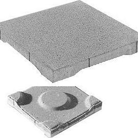 Dreentegel waterpasserend 30x30x3.5 cm Grijs   (11 st-m<sup>2</sup>)