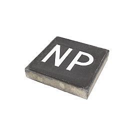 Symbooltegel Niet-Parkeren NP 30x30x6 cm Antra - Wit
