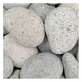 25 KG Beach pebbles 40-60mm grijs