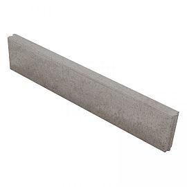 Opsluitband 06x20x100 cm grijs