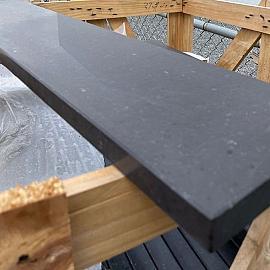 Vijverrand Orient Black graniet gezoet met facet 3x20x100 cm N