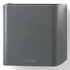 In-Lite Ace Up-Down Wall 100-230V Flat Grey 8.5W