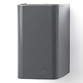 In-Lite Ace Down Wall Flat Grey 12V-3W LED WW