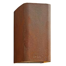 In-Lite Ace Up-Down Wall Corten 12V-7W LED WW