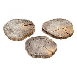 Timberstone Stapsteen Driftwood Ø30-45 cm (niet per post te versturen)