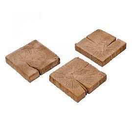 Timberstone Tegel 22.5x22.5x5 cm Coppice (niet per post te versturen)