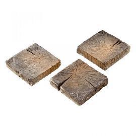 Timberstone Tegel 22.5x22.5x5 cm Driftwood (niet per post te versturen)