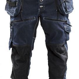 Baggy denim stretch X1900 199911418999C146 Marineblauw-Zwart mt. C146
