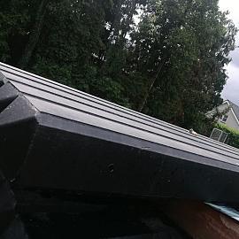 Restpartij Betonpaal Classico Nero 10x10x280 cm tussen