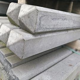 Restpartij Betonpaal Classico Scuro 10x10x180 cm tussen
