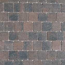 Stonehedge 15x15x6 cm Bruin-Zwart