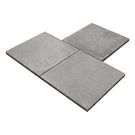 GeoCeramica 60x60x4 cm Roccia Carbon