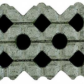 Grastegel 40x60x12cm