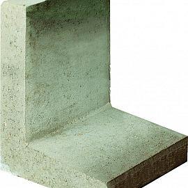 L-element 50x40x40 cm Grijs