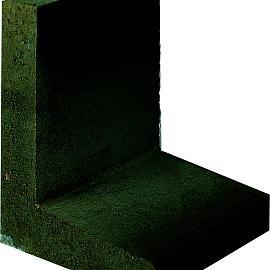 L-hoekelement 50x40x40cm Antraciet