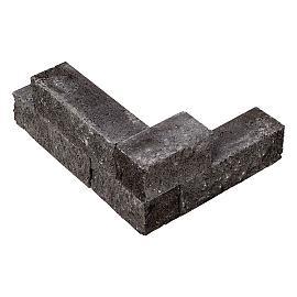 Splitblok antraciet 38x9x9 cm