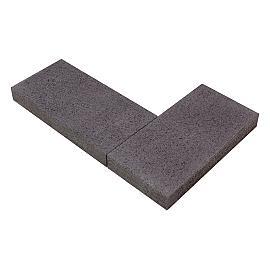 Moodul Afdeksteen 60x15x7.5 cm Black