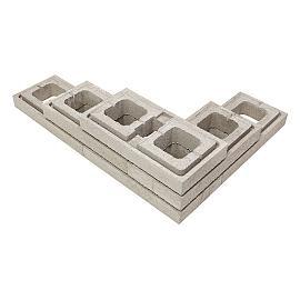Moodul Muurelement 30x60x9 cm Grey