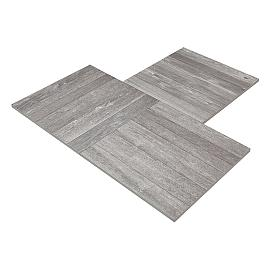 Restpartij Pure Ceramics Wood 60x60x2 cm Nightshade OW2020