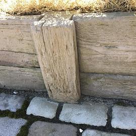 Timberstone tussenpaal 15x15x65 cm Coppice (niet per post te versturen)
