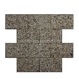 Klassiek gewassen witgeel berggrind Tegels  40x60x4.8 cm