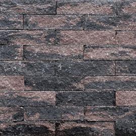 Wallblock Split 10x10x40cm Brons