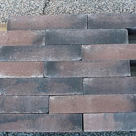 Wallblock Old 15x15x60cm Brons