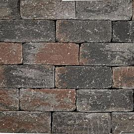 Wallblock Tumbled 12x12x30cm Texels Bont