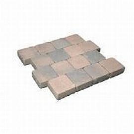 Cobblestones 42x21x8 Bruin genuanceerd