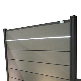 Composiet Modular Systeem Led lichtstrip op zonne-energie