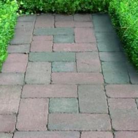 Cobblestones 31.5x21x8 Rood genuanceerd