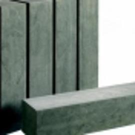 Spotted Blue Palissade met facet 12x12x100 cm