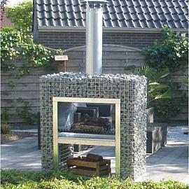 Gardeco Blokhaard 120x130x50 cm (exclusief vulling)