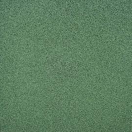 Rubbertegel 50x50x4.5 cm Groen met pengaten