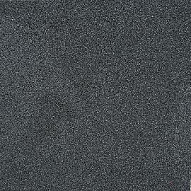 Rubbertegel 50x50x4.5 cm Zwart (grove deklaag)