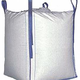 Big bag leeg Wit 90x90x120 cm