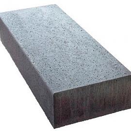 Schellevis Traptreden 100x37x15 cm (massief) antraciet