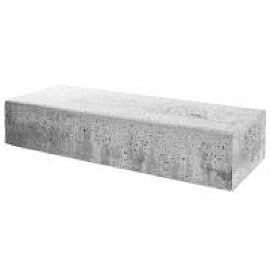 Schellevis Traptreden 100x37x15 cm (massief) grijs