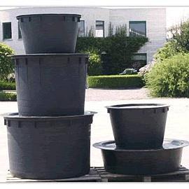 Kuip-vijver 1500 liter Ø 155 diep 100 cm