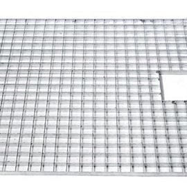 Waterrooster verzinkt  80x80 cm