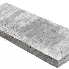Schellevis opsluiting (gewapend) 100x20x5 cm grijs